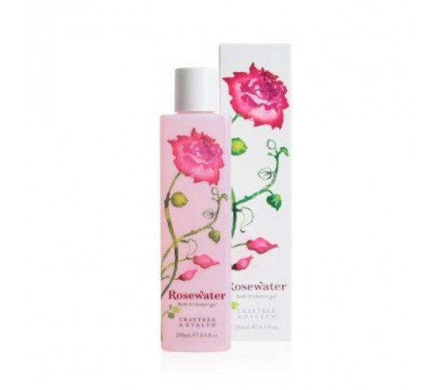 Crabtree & Evelyn Rosewater Bath & Shower Gel 8.5fl oz/250ml