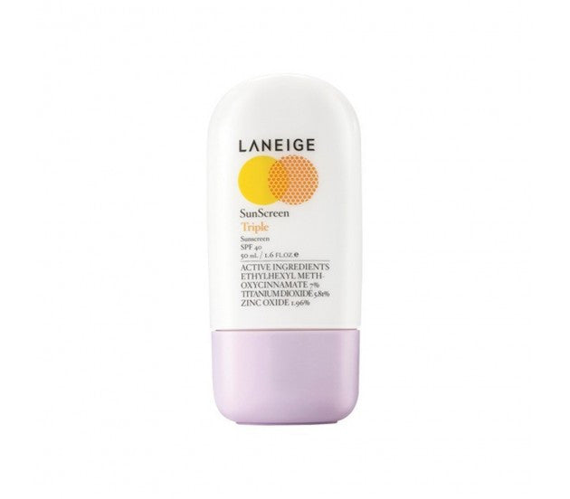 Laneige Triple Sunscreen SPF 40 1.6fl oz/50ml