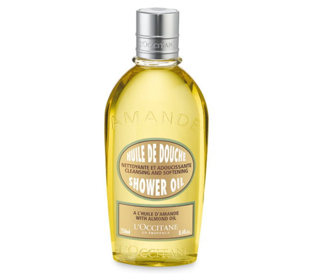 L'Occitane Cleansing and Softening Shower Oil with Almond Oil 250ml/8.4fl oz