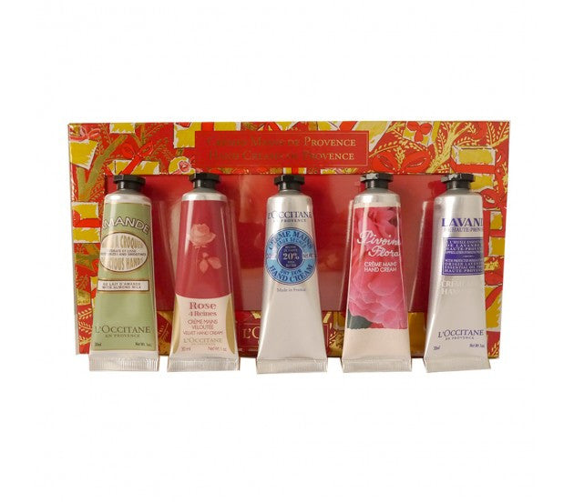 L'Occitane Hand Creams of Provence Collection Set, 5 Pieces