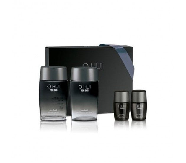 O HUI For Men Neofeel 2pcs Special Set (Hydrating Toner & Moisturizing Emulsion)