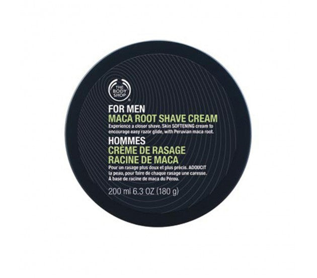 The Body Shop For Men Maca Root Shave Cream 200ml/6.3fl oz