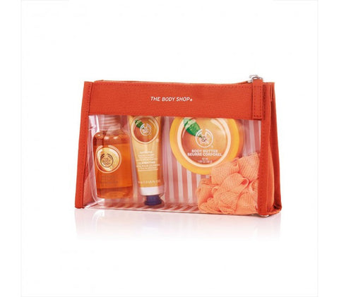 The Body Shop Moringa Beauty Bag Gift Set 5 Pieces