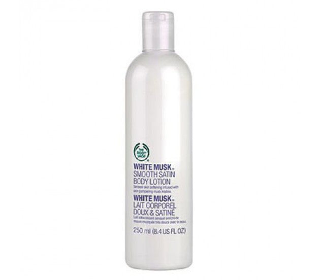 The Body Shop White Musk Smooth Satin Body Lotion 250ml/8.4fl oz