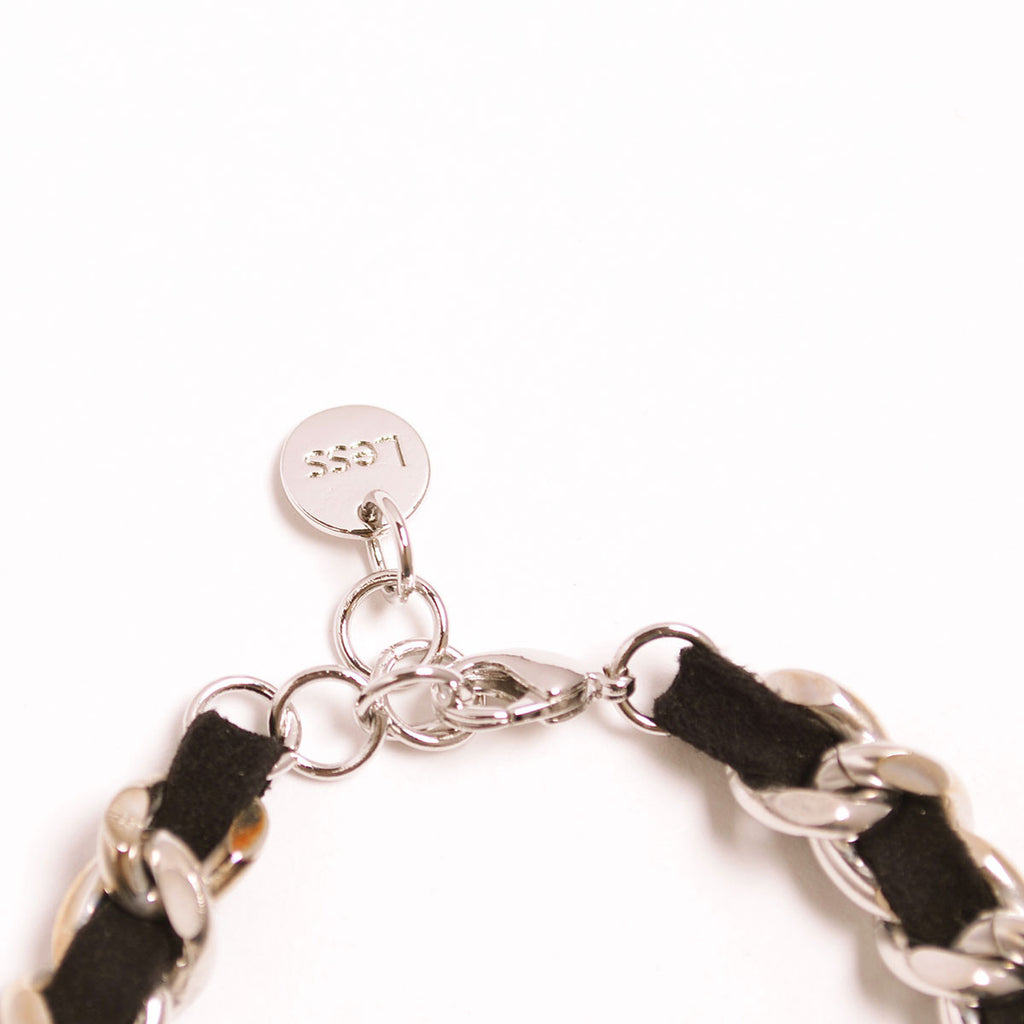 Black Chamude With Chain Bracelet