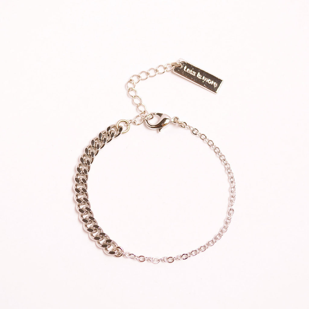 Unbalanced Mix Chain Bracelet