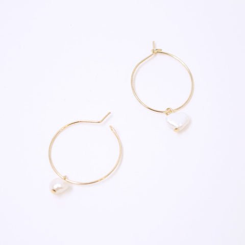 Black Crystal Circle Earring