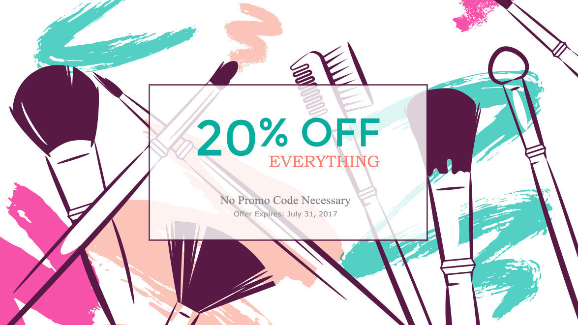 20% Off Everything!