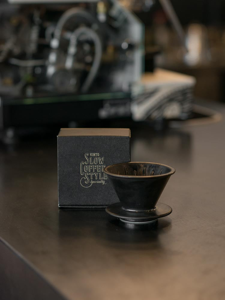 KINTO V60 DRIPPER 2CUPS BLACK