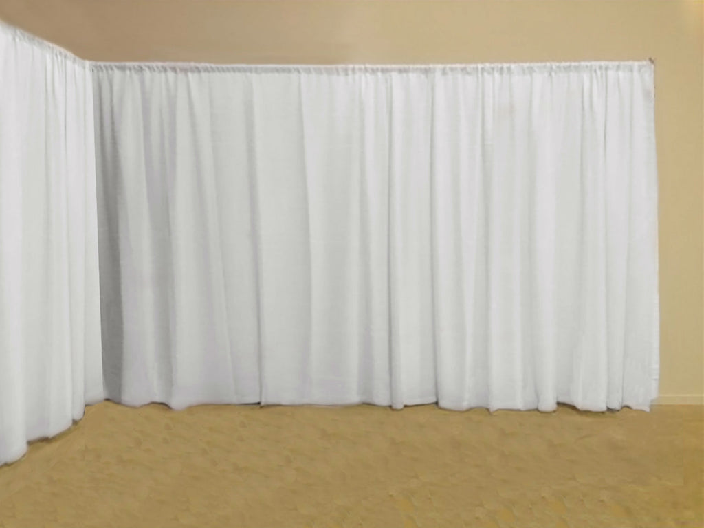 Ready Made Event Backdrop Panel   - White - Sheer Ideas