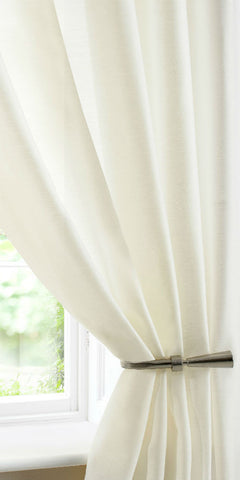 Batiste Voile Panel - Cream - Sheer Ideas