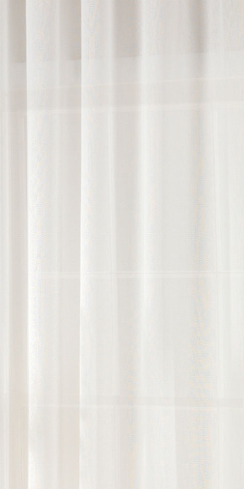 Extra Wide Cotton Rich Fabric 300cm Width - Pure White - CO101W - Sheer Ideas