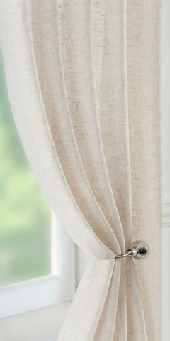 Linen Rich Panel  - Natural - Sheer Ideas