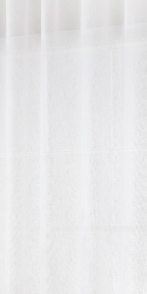 Extra Wide Linen Rich Fabric 300cm Width - Soft White - FL101N - Sheer Ideas