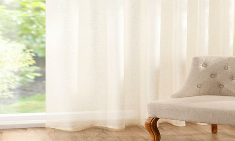 CUSTOM Made 100% PURE LINEN Panel  - Cream - Sheer Ideas