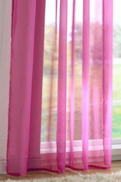 Tab Top Panel - Cerise - Sheer Ideas