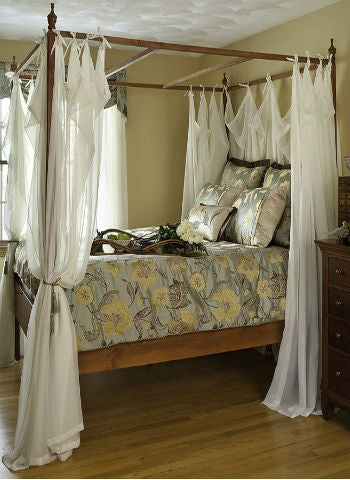 Custom Made Fourposter Bed Panels - Sheer Ideas