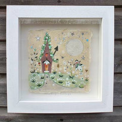 Lucy Loveheart - Snowdrop Cottage original art