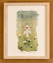 Lucy Loveheart Snowdrop Fairy original art