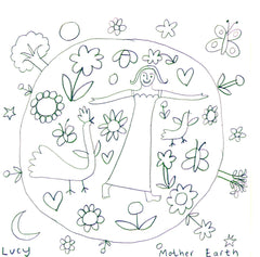 Lucy Loveheart Mothers Day colouring in sheet - Mother Earth.jpg