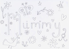 Lucy Loveheart Mothers Day colouring in sheet - Mummy.jpg