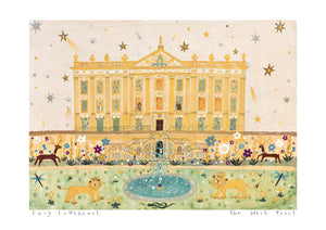 Art Print in a Tube | The West Front | Chatsworth House | Lucy Loveheart