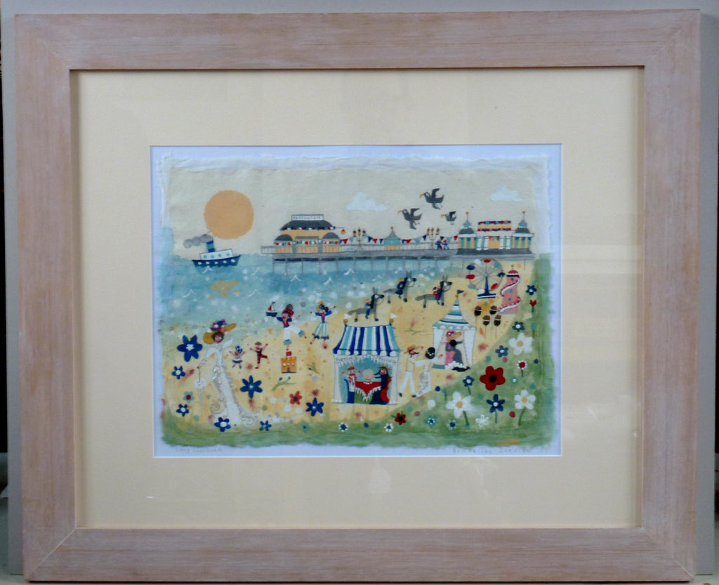 Painting | Beside The Seaside | Lucy Loveheart