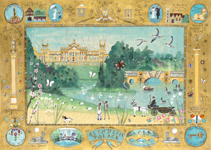 Art Prints in a Tube | The Finest View in England | Blenheim Palace | Lucy Loveheart