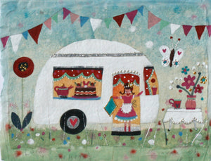 Original Painting | Caravan of Love | Lucy Loveheart
