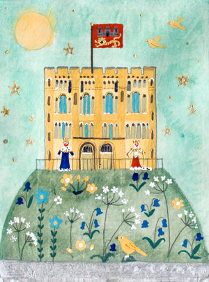 Castle on the Hill | Limited Edition Studio Print in a Tube | Norwich | Lucy Loveheart