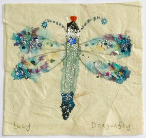 Original Painting | Dragonfly | Lucy Loveheart