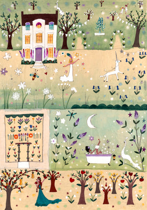 Studio Print | Enchanted Garden | Lucy Loveheart