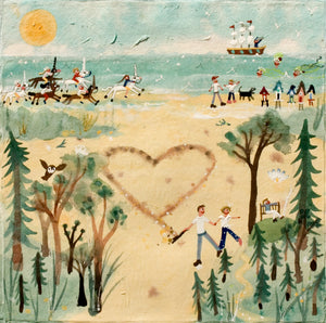 Studio Print | Falling in Love with Norfolk | Holkham | Lucy Loveheart