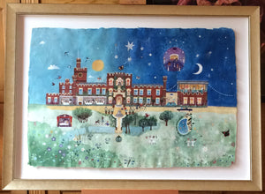 Original Painting | Ragdale Hall | Lucy Loveheart