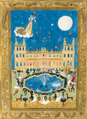 Art Print in a Tube | The Golden Ball | Blenheim Palace | Lucy Loveheart