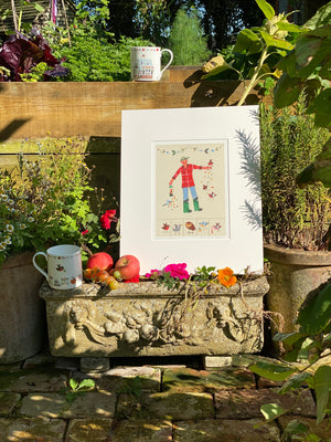 Studio Print | The Bird Feeder | Lucy Loveheart