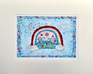 Studio Print | Rainbow Land | Lucy Loveheart