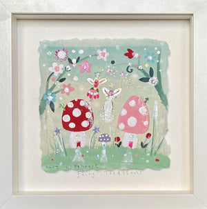 Original Painting | Fairy Toadstools | Lucy Loveheart