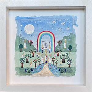 Original Painting | Magic Rainbow Land | Lucy Loveheart