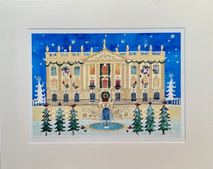 Studio Print | Happy Christmas | Chatsworth | Lucy Loveheart