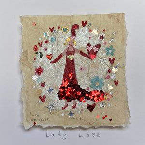 Original Painting | Lady Love | Lucy Loveheart