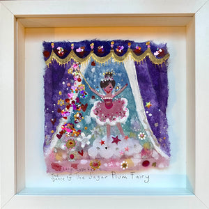 Original Painting | The Dance Of The Sugar Plumb Fairy  | Lucy Loveheart