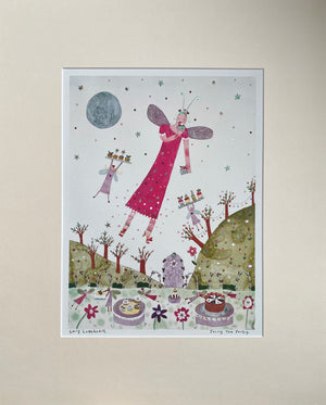 Studio Print | Fairy Tea Party | Lucy Loveheart