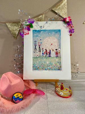 Art Prints | Dancing In The Moonlight | Lucy Loveheart