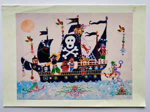 Studio Print Seconds | A REAL Pirate | Lucy Loveheart