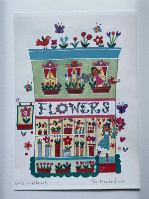 Studio Print Seconds | The Flower Shop Large | Lucy Loveheart