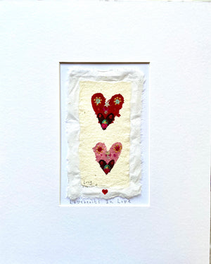 Original Painting | Lovehearts In Love | Lucy Loveheart