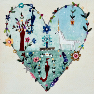Studio Print in a Tube | Enchanted Heart | Lucy Loveheart