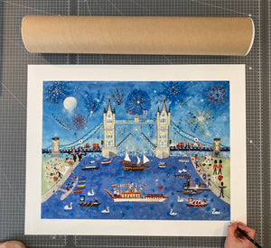 The Wonder Bridge | Limited Edition Studio Print | Lucy Loveheart