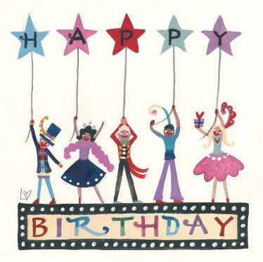 Greetings Cards | Birthday Stars | Lucy Loveheart